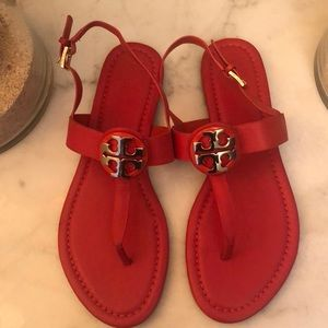 Tory Burch Black Sandals new,size 8